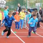 Na ostrově Běžecko závodilo 109 dětí