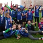 Družstvo dívek vyhrálo 1.kolo soutěže družstev