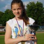 Julča Polášková vyhrála dva díly čokoládového pokladu