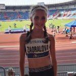 Lucka Zaoralová pátá ve finále Čokoládové tretry