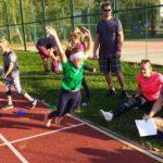 Na X.ročníku Podzimního trojboje závodilo 87 dětí