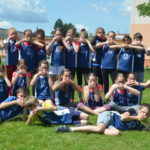 Družstvo našich dívek druhé po prvním kole ligy